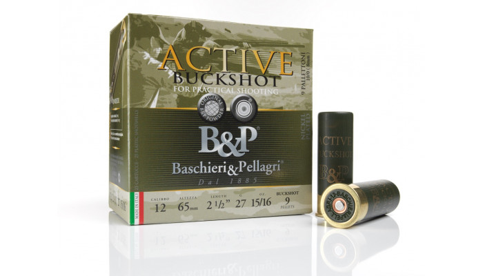 Baschieri & Pellagri Active BuckShot 12/65 27g