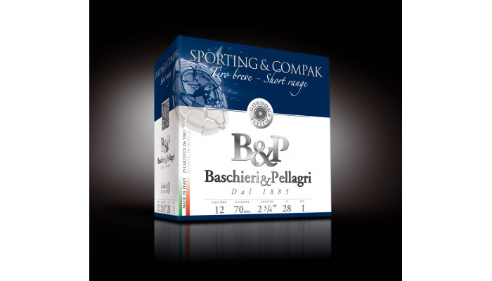 Baschieri & Pellagri Sporting&Compak Short Range 12/70 28g
