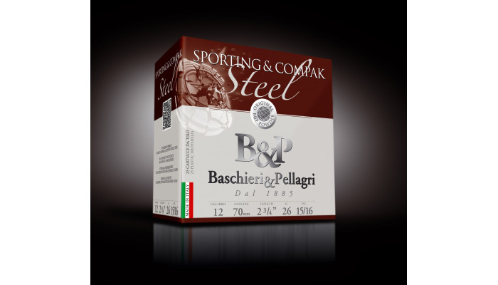 Baschieri & Pellagri Sporting&Compak Steel 12/70 26g