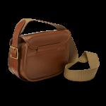 Croots Byland kožená nábojová taška na 150 nábojů - London Tan
