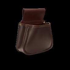 Croots Byland kožená násypná kapsa na 50 nábojů - Oxblood