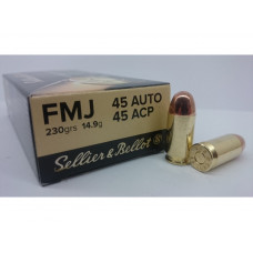 Sellier&Bellot 45 Auto FMJ