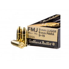 Sellier&Bellot 9mm Luger FMJ