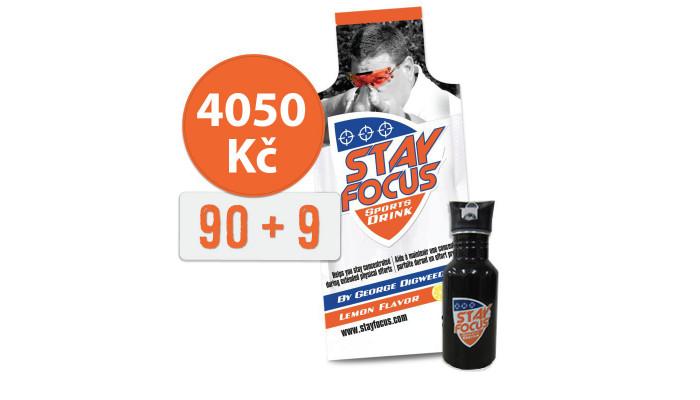 Stay Focus 90+9+láhev