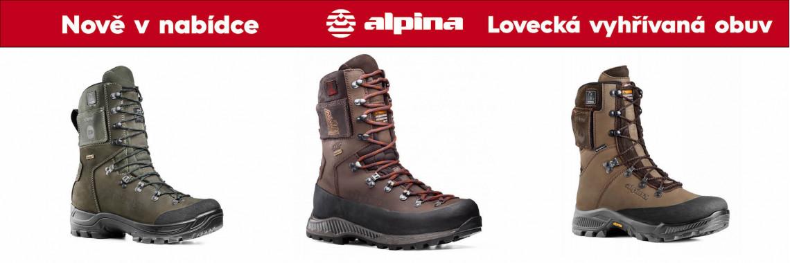 Vyhřívaná lovecká obuv Alpina